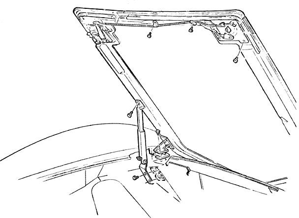 corvette parts diagrams accessories for c1 c2 and c3 C3 Corvette Rear Suspension Diagram female hood latch bolt kit with anchor headmark