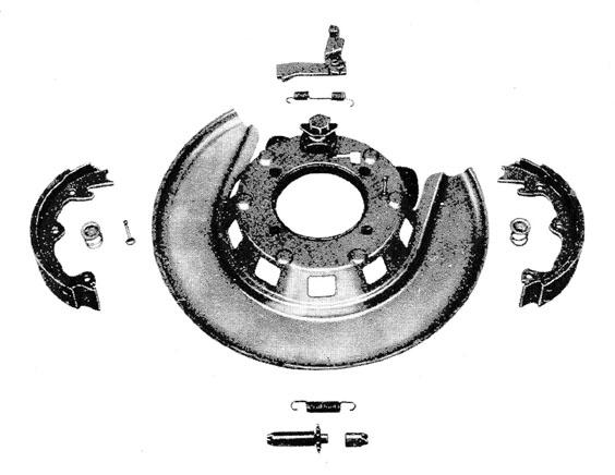 Parking Brake Linkage Diagram For All Corvette Years